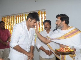 Actor Pawan Kalyan's yet-untitled next Telugu project was launched here on Tuesday on the auspicious day of Dussehra. The film will be the remake of Tamil film