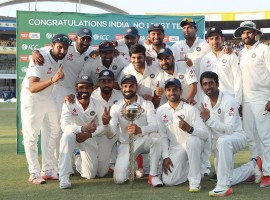India completed a 3-0 whitewash of New Zealand after thrashing the visitors by 321 runs on the fourth day of the third and final Test at the Holkar Cricket Stadium here on Tuesday.