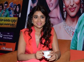 South Indian Actress Shriya Saran at Republic Hindu Coalition (RHC) Charity Concert Press Meet.