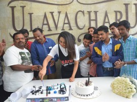 Photos of South Indian Actress Rakul Preet Singh Birthday Celebration.