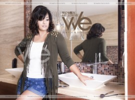 South Indian Actress Varalakshmi Sarathkumar sizzles on WE Magazine.