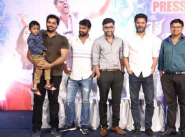 Tamil movie Devi Success Meet event held at Chennai. Celebs like Prabhudheva, RJ Balaji, Director Vijay, Mahesh, Shiyam Jack and others graced the event.