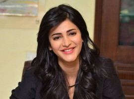 Photos of South Indian Actress Shruti Haasan at Premam movie Interview.