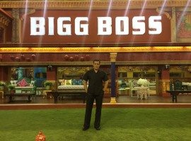 Actor Salman Khan reveals the first look of the Bigg Boss 10 house in three clicks.
