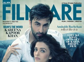 Ae Dil Hai Mushkil stars Ranbir Kapoor and Aishwarya Rai steamy photoshoot for Filmfare cover.