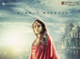 Nayanthara's Kashmora movie poster.