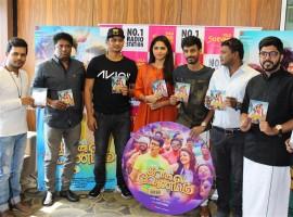 Tamil movie Kavalai Vendam Movie Audio launch event held at Suryan 93.5 FM, Chennai. Celebs like Jiiva, Sunaina, Leon James, Deekay, Elred Kumar and others graced the event.
