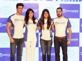 Photos of Bollywood actor Hrithik Roshan launches Mpower's Everyday Heroes campaign in Mumbai.