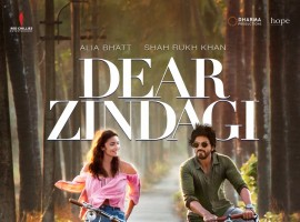 Shah Rukh Khan, Alia Bhatt's Dear Zindagi First Look poster revealed.