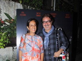 Azad short film Special Screening event held at Sunny Super Sound. Celebs like Mannara Chopra, Gulshan Devaiya, Jackie Shroff, Nandita Das, Nitya Mehra, Shriya Pilgaonkar, Siddharth Menon, Sudhir Mishra, Atul Kulkarni, Vinay Pathak and others graced the event.