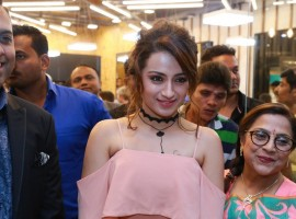 Photos of South Indian Actress Trisha Krishnan launches Spalon India's 2nd Bounce Salon and Spa at Inorbit Mall in Hyderabad.