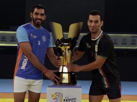 India and Iran won their respective semi-finals to enter the final of the Kabaddi World Cup here on Friday. The hosts made short work of Thailand, crushing them 73-20 to enter their third consecutive World Cup final in style, while Iran came from behind to overpower a spirited South Korea 28-22.
