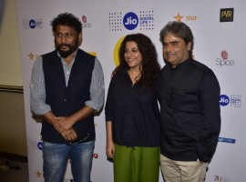 On the Set with directors at MAMI Mela with Vishal Bharadwaj, Zoya Akhtar, Gauri Shinde, Rohit Shetty and Shoojit Sircar.