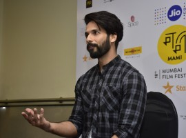 Photos of Bollywood actor Shahid Kapoor at MAMI Mela.