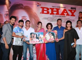 Photos of Actors Sohail Khan, Raveena Tandon, Smita Gondkar during the music launch of film