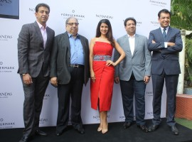 Photos of Bollywood actress Nimrat Kaur launches Forevermark diamonds festive collection.