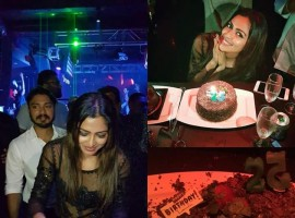 South Indian Actress Amala Paul celebrated her 25th birthday in Kuala Lumpur, Malaysia. Currently Amala Paul is working in Kannada movie Hebbuli with Sudeep and Tamil movie Vada Chennai with Dhanush.