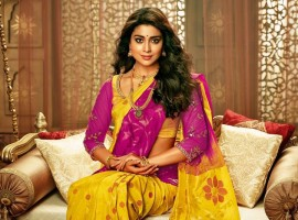 South Indian Actress Shriya Saran Photoshoot for CMR Shopping Mall.