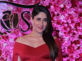 Photos of Bollywood actress Kareena Kapoor Khan at Lux Golden Rose Awards 2016.