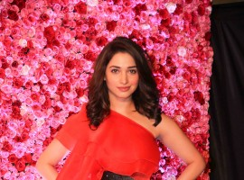 Actress Tamannaah Bhatia at Lux Golden Rose Awards 2016.