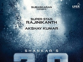 Rajinikanth, Akshay Kumar, Amy Jackson's 2.0 aka Enthiran 2 Title Logo is out.