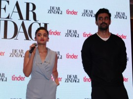 Photos of Bollywood actors Alia Bhatt, Kunal Kapoor launch Tu Hi Hai song from Dear Zindagi, in Mumbai, on Nov 17, 2016.