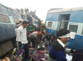 More than 100 people were killed and around 150 injured when 14 coaches of the Indore-Patna Express derailed near the city of Kanpur before dawn on Sunday, officials said. The horrific disaster took place when the Patna-bound train's coaches ran off the rails just after 3 a.m. near Pukhrayan station, about 60 km from Kanpur city, railway and police officials said.