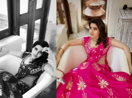 South Indian actress Samantha Ruth Prabhu photoshoot for Mango Ad.