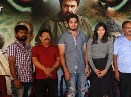 Manyam Puli upcoming movie teaser launch event held at Hyderabad. South Indian Actress Hebah Patel and others graced the event.