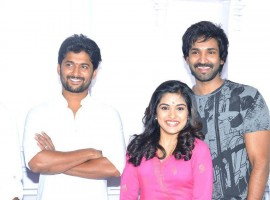 Actor Nani's yet to be titled Telugu film was officially launched on Wednesday here. Nearly 80 percent of the film will be shot in the US, apart from Vishakhapatnam and Hyderabad.