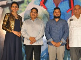 Telugu movie Dhruva trailer launch event held at Hyderabad. Rakul Preet Singh, Producer Allu Aravind, Director Surender Reddy, Kulwinder Singh, NV Prasad, Rajender Singh and others graced the event.