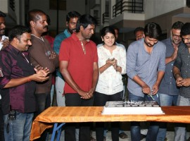 South Indian actor Udhayanidhi Stalin celebrated his Birthday at the Sets Gaurav Narayanan movie shoot. Celebs like Soori, Manjima Mohan, Daniel Balaji and others graced the event.