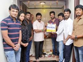 South Indian actor Vishnu Vishal's Studioz Production No.3 movie pooja held at Chennai. Celebs like Vishnu Vishal, Music Director Leon James, Director Chella Ayyavu, Cinematographer Shakthi and others graced the event.