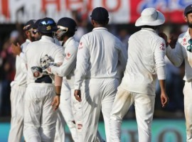 Parthiv Patel struck a whirlwind half-century as India thrashed England by eight wickets in the third Test at the Punjab Cricket Association I.S. Bindra Stadium here on Tuesday.