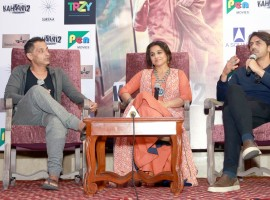 Photos of Bollywood actress Vidya Balan at Press conference of film Kahaani 2.