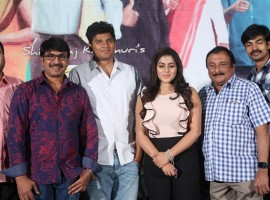 Telugu movie Jayammu Nischayammu Raa thanks meet held at Hyderabad. Celebs like Srinivasa Reddy, Poorna, Krishna Bhagavaan, Shiva Raj Kanumuri, Ravi Varma, Meena Kumari and others graced the event.