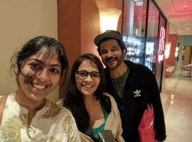 Demonetisation has brought the classes and masses in one line -- and Anil Kapoor is one such example. The actor stood in an ATM line to take out some cash and took selfies with a few fans while he waited. Last month, Prime Minister Narendra Modi scrapped Rs 500 and Rs 1,000 currency notes in an effort to curb black money. Anil on Thursday took to Twitter, where he re-tweeted a photograph of himself with two female fans. The actor is seen sporting a cap and gray t-shirt under a black jacket while waiting for his turn.