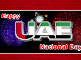 Let us cherish and celebrate the glory of our country together. Let us pray that the culture, integrity and the unity of our country live longer. Congratulations on the UAE National Day celebrations.