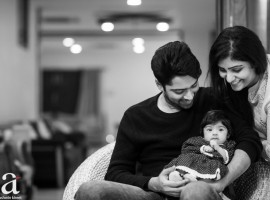 Tollywood actor Allari Naresh releases first photo of his daughter Ayana Evika Edara.