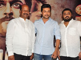 Telugu movie S3 – Yamudu 3 press meet event held at Hyderabad. Celebs like Suriya and others graced the event.