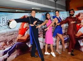 Photos of Befikre movie promotion at Yash Raj Studios.