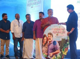 Malayalam movie Munthirivallikal Thalirkkumbol audio launch event held last night. Celebs like Mohanlal, Meena and others graced the event.