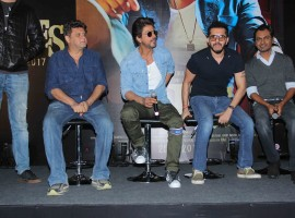 Shah Rukh Khan at Raees Trailer launch.