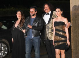 Photos of Kareena Kapoor and Saif Ali Khan at Manish Malhotra Birthday Bash.
