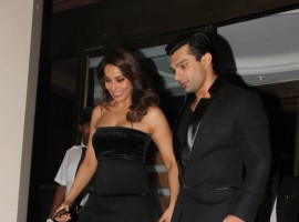 Photos of Bipasha Basu, Karan Singh Grover at Manish Malhotra's 50th birthday bash.