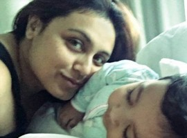 Bollywood Actress Rani Mukerji Chopra has shared the first image of her and filmmaker-husband Aditya Chopra's daughter Adira. The photograph was shared on Adira's first birthday, which also marks the release of Chopra's