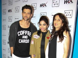 Celebs like Hrithik Roshan, Athiya Shetty and Kanika Kapoor spotted at the launch event of Anandita De's blog.