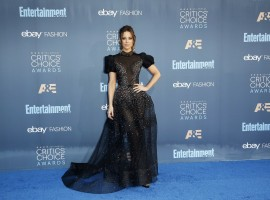Actress Kate Beckinsale arrives at the 22nd Annual Critics' Choice Awards in Santa Monica, California, U.S., December 11, 2016.
