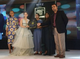 South Scope Lifestyle Awards 2016 event held in Hyderabad. South Indian actress like Rana Daggubati, Tamanna, Amala Paul, Pranitha, Parul Yadav and others graced the event.