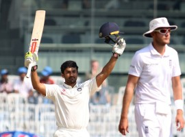 Promising Karnataka batsman Karun Nair on Monday became only the second Indian to slam a triple hundred in Test cricket as he remained unbeaten on 303 against England in the fifth and final Test here.